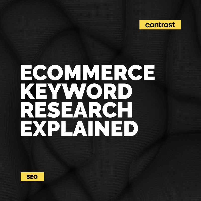 Image for eCommerce Keyword Research Explained